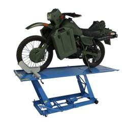 Motorfietslift parallel...